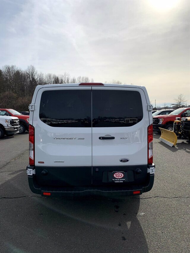 2018 Transit 350 Low Roof 4x2, Passenger Wagon #HRU379A - photo 7