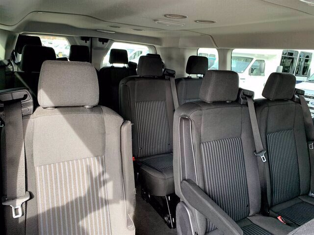 2018 Transit 350 Low Roof 4x2, Passenger Wagon #HRU379A - photo 28
