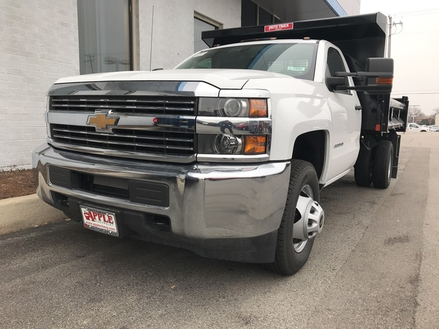 2017 Silverado 3500 Regular Cab DRW Dump Body #17-1691 - photo 4