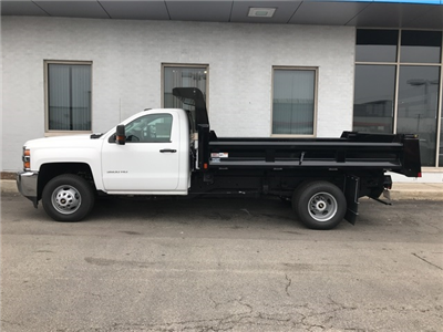 2017 Silverado 3500 Regular Cab DRW Dump Body #17-1691 - photo 6