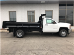 2017 Silverado 3500 Regular Cab DRW Dump Body #17-1691 - photo 11