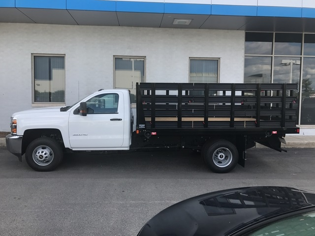 2017 Silverado 3500 Regular Cab DRW,  Auto Truck Group Stake Bed #17-1910 - photo 5