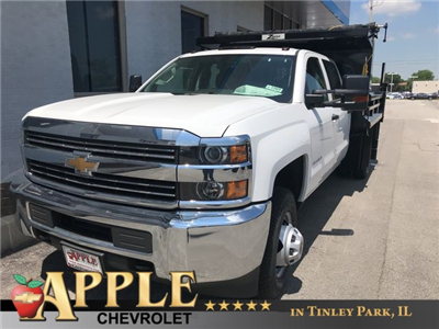 2018 Silverado 3500 Crew Cab DRW 4x4,  Rugby Eliminator LP Steel Dump Body #18-1203 - photo 1