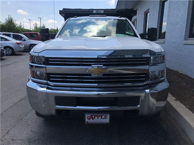 2018 Silverado 3500 Crew Cab DRW 4x4,  Rugby Eliminator LP Steel Dump Body #18-1203 - photo 4