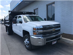 2018 Silverado 3500 Crew Cab DRW 4x4,  Rugby Eliminator LP Steel Dump Body #18-1203 - photo 3