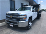 2018 Silverado 3500 Crew Cab DRW 4x4,  Rugby Eliminator LP Steel Dump Body #18-1203 - photo 5