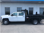 2018 Silverado 3500 Crew Cab DRW 4x4,  Rugby Eliminator LP Steel Dump Body #18-1203 - photo 6