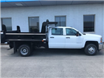 2018 Silverado 3500 Crew Cab DRW 4x4,  Rugby Eliminator LP Steel Dump Body #18-1203 - photo 9