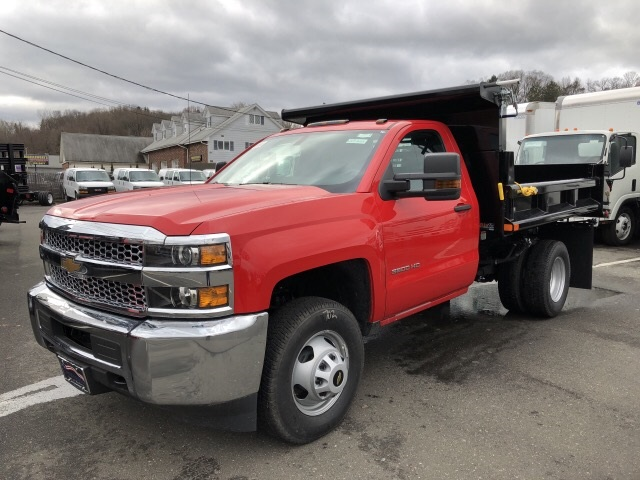 2019 Silverado 3500 Regular Cab DRW 4x4,  Air-Flo Dump Body #N105423 - photo 1