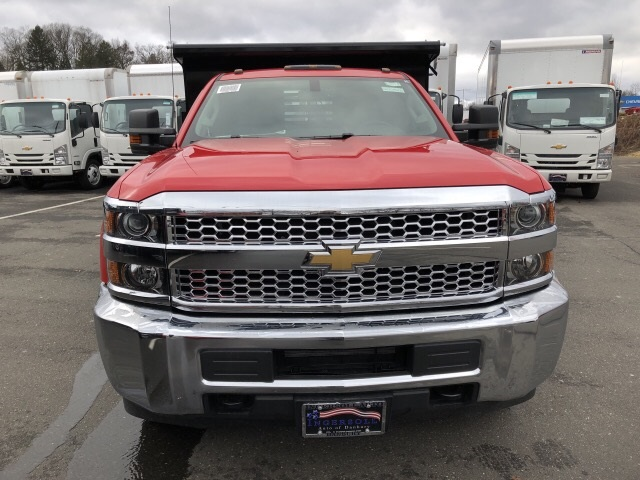2019 Silverado 3500 Regular Cab DRW 4x4,  Air-Flo Dump Body #N105423 - photo 3