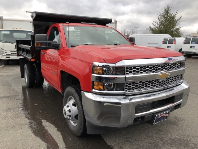 2019 Silverado 3500 Regular Cab DRW 4x4,  Air-Flo Dump Body #N105423 - photo 4