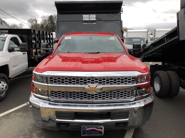 2019 Silverado 3500 Regular Cab DRW 4x4,  Air-Flo Dump Body #N106876 - photo 3