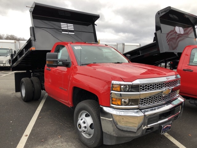 2019 Silverado 3500 Regular Cab DRW 4x4,  Air-Flo Dump Body #N106876 - photo 4