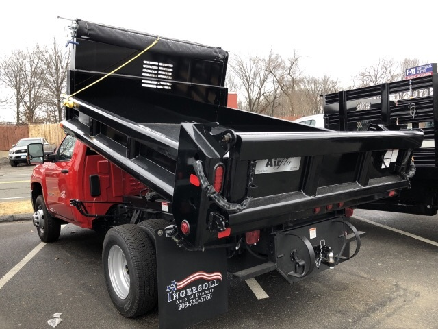 2019 Silverado 3500 Regular Cab DRW 4x4,  Air-Flo Dump Body #N106876 - photo 2