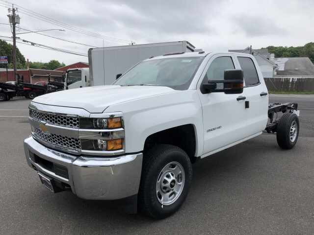 2019 Silverado 2500 Double Cab 4x4,  Cab Chassis #N179076 - photo 1