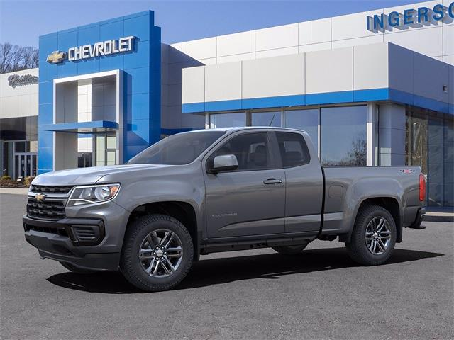 2021 Chevrolet Colorado Extended Cab 4x4, Pickup #N211355 - photo 3