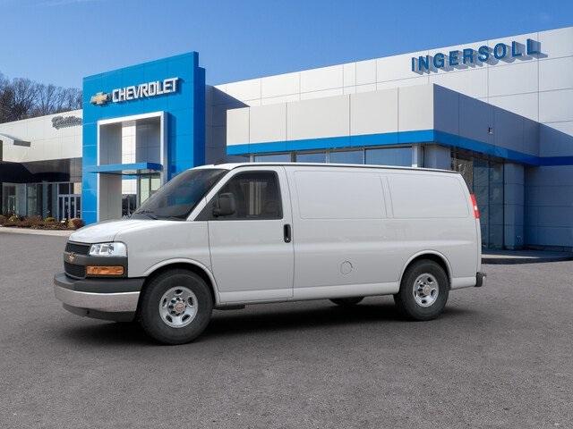 2019 Chevrolet Express 3500 RWD, Empty Cargo Van #N371906 - photo 1