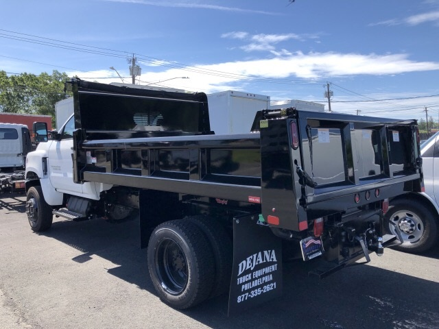 2019 Silverado Medium Duty Regular Cab 4x4,  Rugby Dump Body #N827506 - photo 1