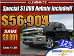 2017 Silverado 2500 Crew Cab 4x4, Pickup #44900 - photo 1