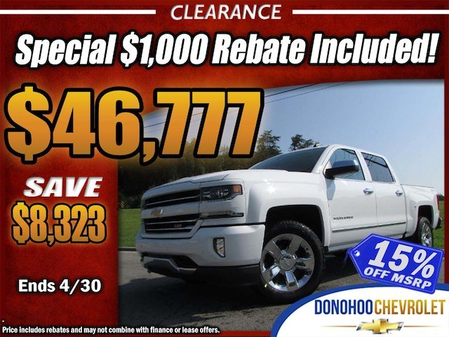 2017 Silverado 1500 Crew Cab 4x4, Pickup #45024 - photo 1