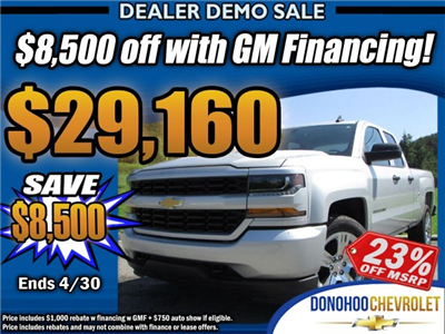 2018 Silverado 1500 Double Cab 4x2,  Pickup #45173 - photo 1