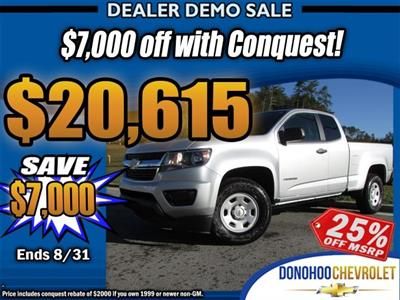 2018 Colorado Extended Cab 4x2,  Pickup #45525 - photo 30