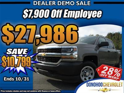 2017 Silverado 1500 Crew Cab 4x2,  Pickup #45537 - photo 1