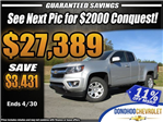 2018 Colorado Extended Cab 4x2,  Pickup #45671 - photo 1