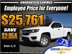 2018 Colorado Extended Cab Pickup #45677 - photo 1