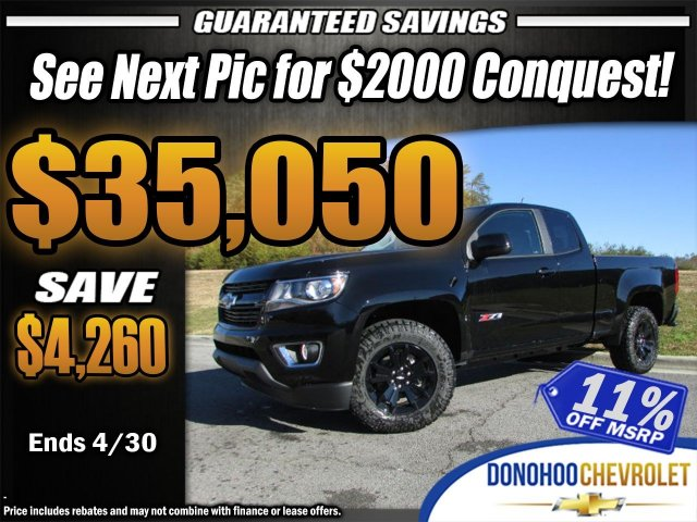 2018 Colorado Extended Cab 4x4, Pickup #45681 - photo 1