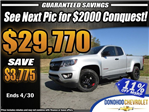 2018 Colorado Extended Cab, Pickup #45689 - photo 1