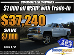 2018 Silverado 2500 Extended Cab 4x4 Pickup #45767 - photo 1