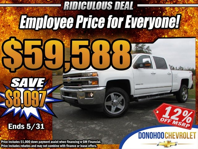 2018 Silverado 2500 Crew Cab 4x4, Pickup #45801 - photo 1
