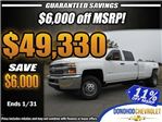 2018 Silverado 3500 Crew Cab 4x4 Pickup #46026 - photo 1