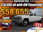 2018 Silverado 3500 Crew Cab 4x4,  Pickup #46048 - photo 1