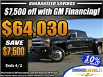 2018 Silverado 3500 Crew Cab 4x4, Pickup #46094 - photo 1