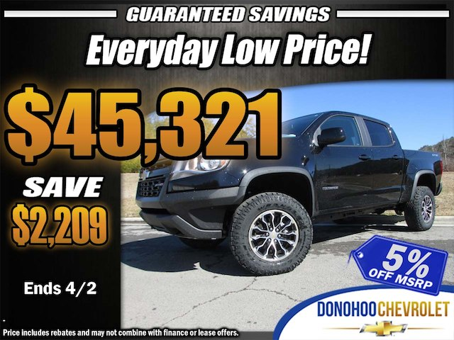 2018 Colorado Crew Cab 4x4, Pickup #46154 - photo 34