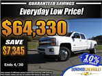 2018 Silverado 3500 Crew Cab 4x4, Pickup #46290 - photo 1