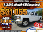 2018 Silverado 1500 Crew Cab 4x2,  Pickup #46978 - photo 32