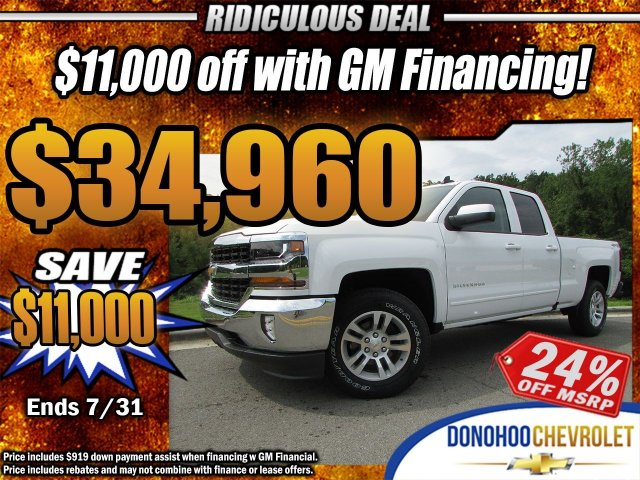 2018 Silverado 1500 Double Cab 4x4,  Pickup #46986 - photo 31