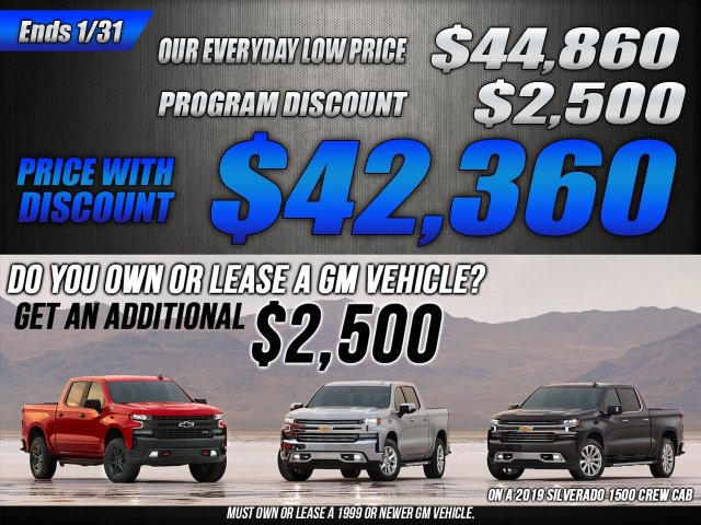 2019 Silverado 1500 Crew Cab 4x4,  Pickup #47110 - photo 38