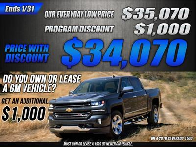 2018 Silverado 1500 Crew Cab 4x2,  Pickup #47839 - photo 35