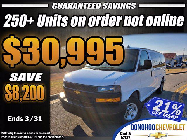 2020 Chevrolet Express 2500 4x2, Passenger Wagon #52132 - photo 2