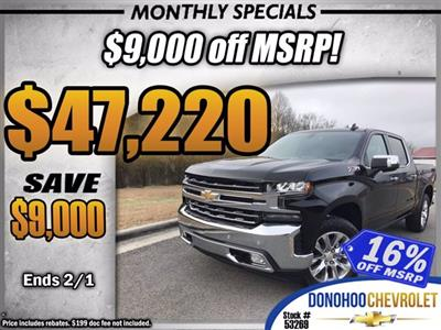 2021 Chevrolet Silverado 1500 Crew Cab 4x4, Pickup #53269 - photo 1