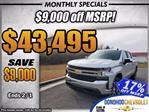 2021 Chevrolet Silverado 1500 Crew Cab 4x4, Pickup #53285 - photo 1
