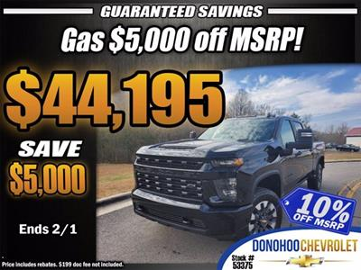 2021 Chevrolet Silverado 2500 Crew Cab 4x4, Pickup #53375 - photo 1