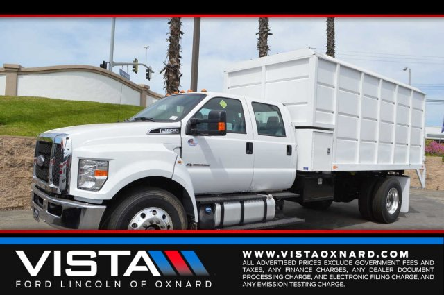 2017 F-650 Crew Cab DRW 4x2,  Marathon Chipper Body #F7C295 - photo 1