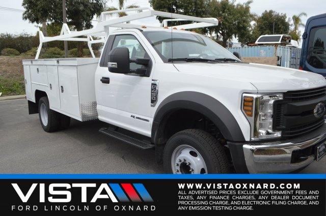 2018 F-450 Regular Cab DRW 4x2,  Scelzi Service Body #F8C461 - photo 1