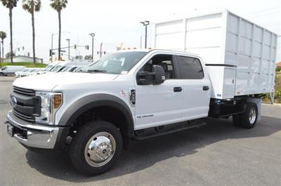 2018 F-550 Crew Cab DRW 4x2, Marathon Chipper Body #F8C486 - photo 4