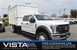2018 F-550 Crew Cab DRW 4x2,  Marathon Chipper Body #F8C486 - photo 1